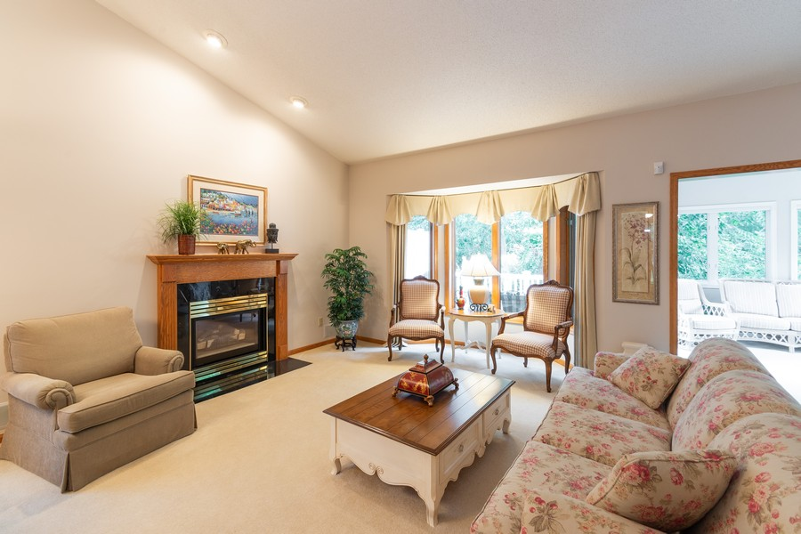 Real Estate Photography - 2109 Overlook Drive, Bloomington, MN, 55431 - Living Room