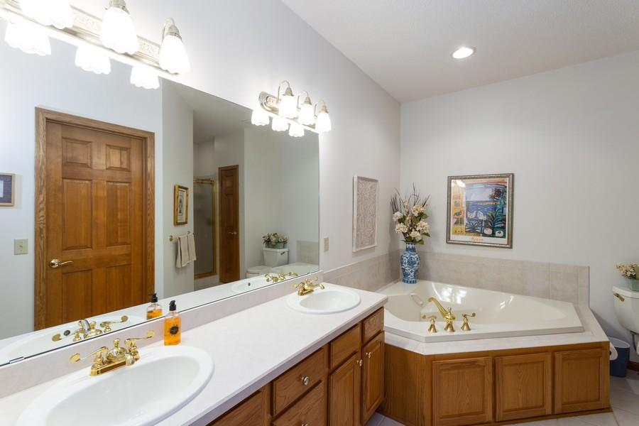 Real Estate Photography - 2109 Overlook Drive, Bloomington, MN, 55431 - Master Bathroom