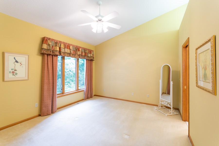 Real Estate Photography - 2109 Overlook Drive, Bloomington, MN, 55431 - Master Bedroom