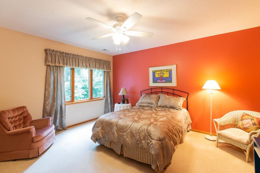 Real Estate Photography - 2109 Overlook Drive, Bloomington, MN, 55431 - Bedroom