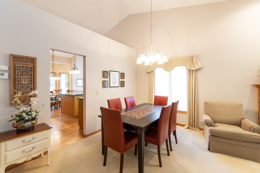 Real Estate Photography - 2109 Overlook Drive, Bloomington, MN, 55431 - Dining Room