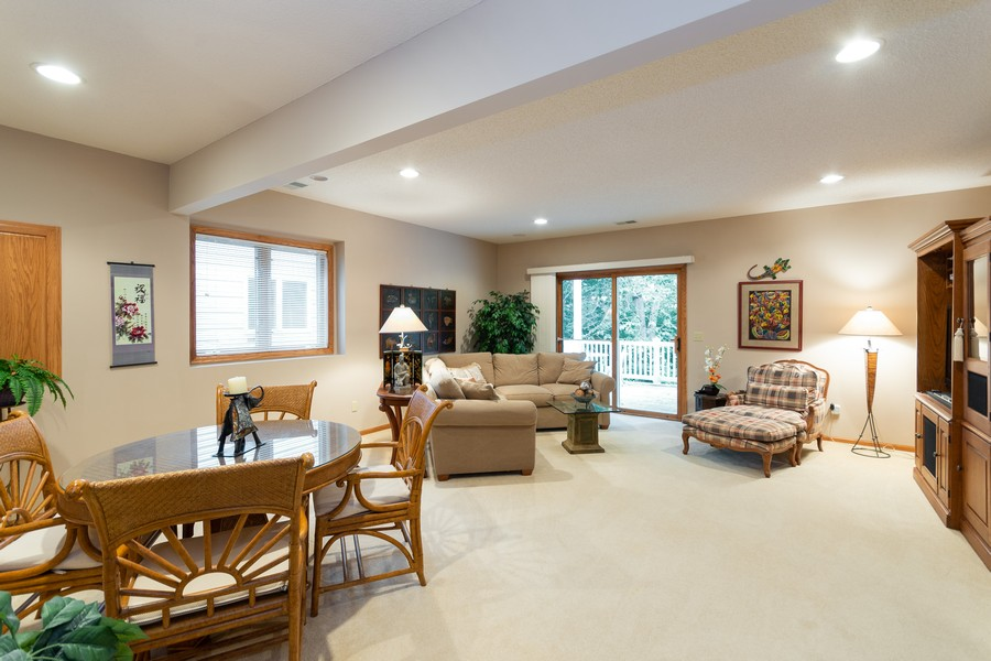 Real Estate Photography - 2109 Overlook Drive, Bloomington, MN, 55431 - Family Room