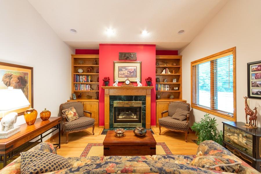 Real Estate Photography - 2109 Overlook Drive, Bloomington, MN, 55431 - Den