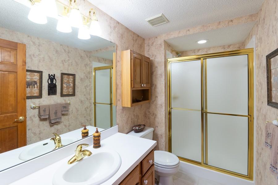 Real Estate Photography - 2109 Overlook Drive, Bloomington, MN, 55431 - Bathroom