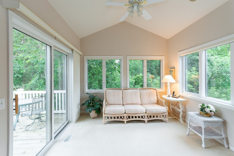Real Estate Photography - 2109 Overlook Drive, Bloomington, MN, 55431 - Sun Room