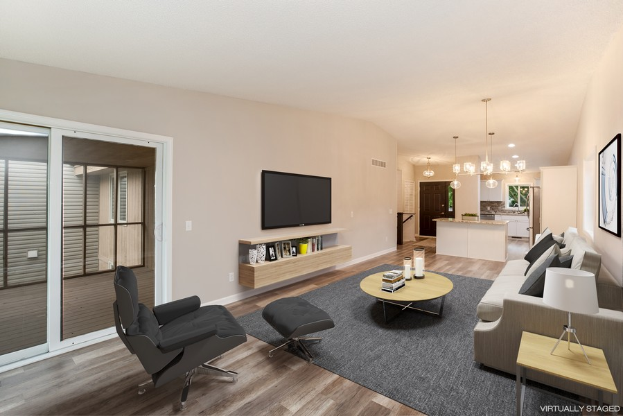 Real Estate Photography - 14367 Embry Path, Apple Valley, MN, 55124 - Living Room