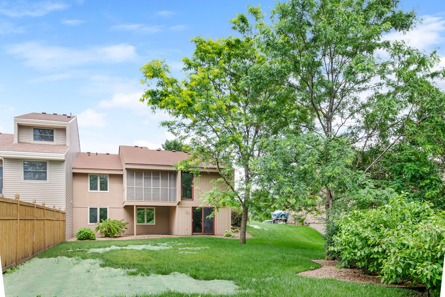 Real Estate Photography - 14367 Embry Path, Apple Valley, MN, 55124 - Rear View