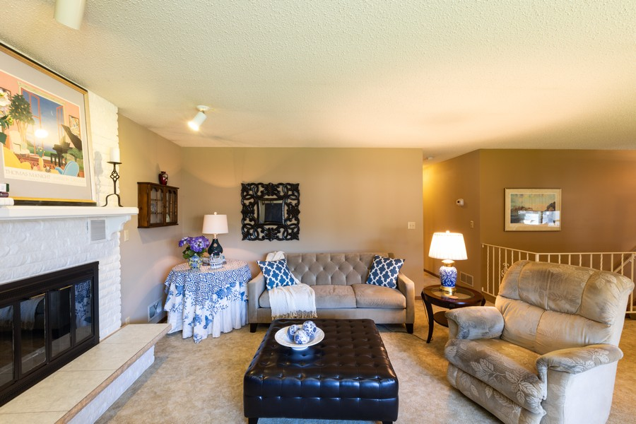 Real Estate Photography - South wind dr, West st paul, MN, 55118 - Living Room