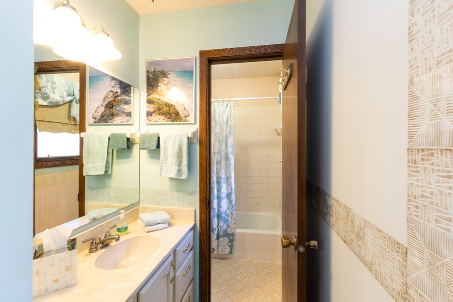 Real Estate Photography - South wind dr, West st paul, MN, 55118 - Master Bathroom