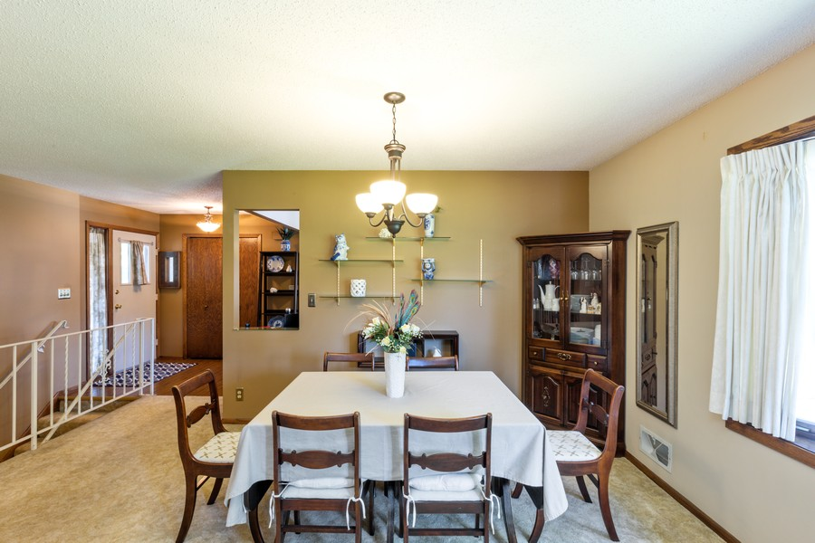 Real Estate Photography - South wind dr, West st paul, MN, 55118 - Dining Area 2