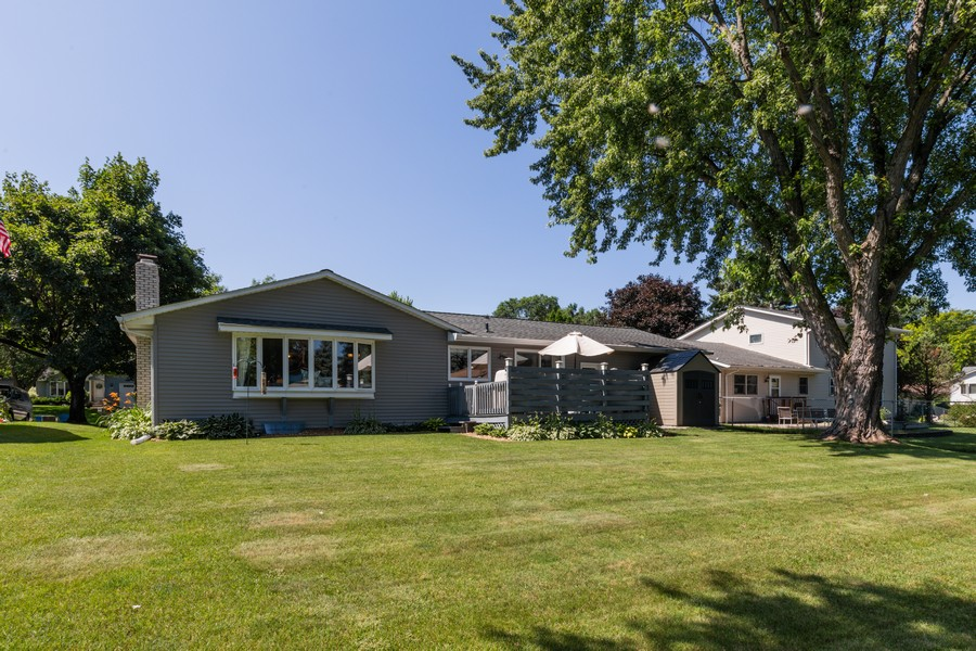 Real Estate Photography - South wind dr, West st paul, MN, 55118 - Rear View