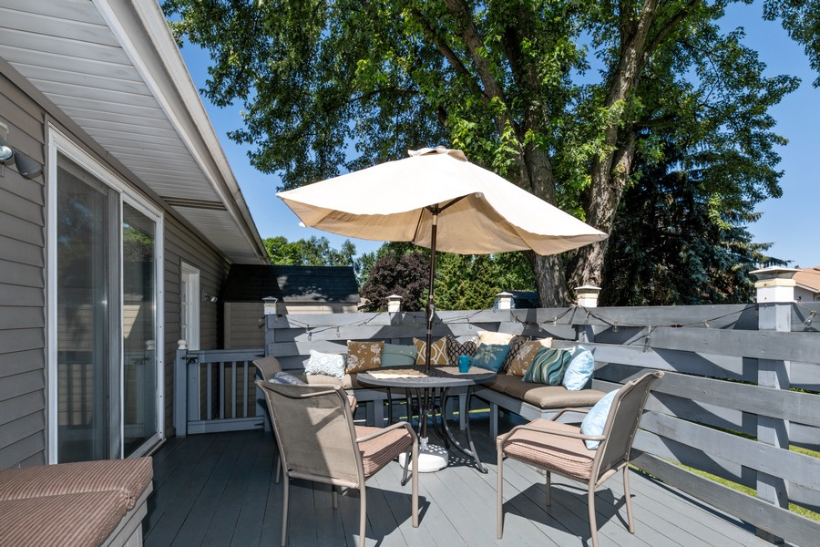 Real Estate Photography - South wind dr, West st paul, MN, 55118 - Deck