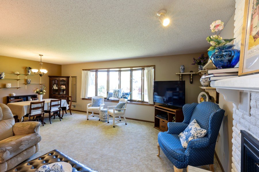Real Estate Photography - South wind dr, West st paul, MN, 55118 - Living Room/Dining Room