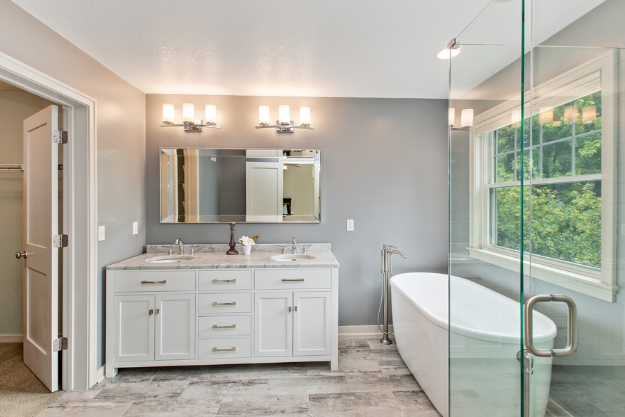 Real Estate Photography - 425 Country Road, Stillwater, MN, 55082 - Master Bathroom