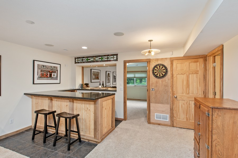 Real Estate Photography - 425 Country Road, Stillwater, MN, 55082 - Bar