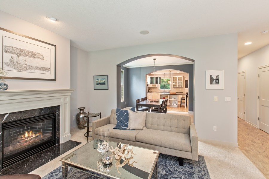 Real Estate Photography - 425 Country Road, Stillwater, MN, 55082 - Living Room / Dining Room