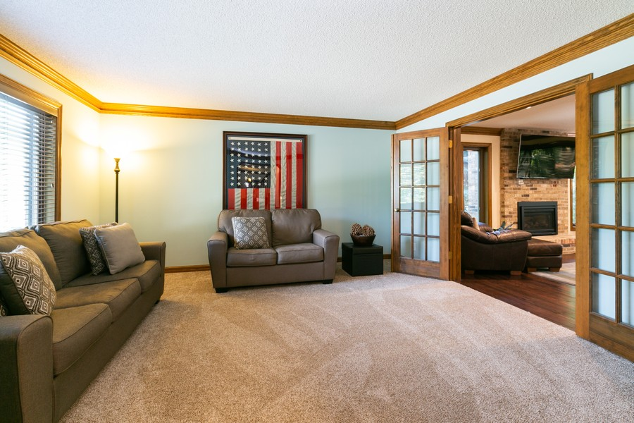 Real Estate Photography - 13311 Greenwich Ct, Apple Valley, MN, 55124 - Flex Room on Main Level