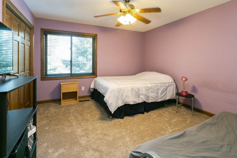 Real Estate Photography - 13311 Greenwich Ct, Apple Valley, MN, 55124 - Second Bedroom on Upper Level