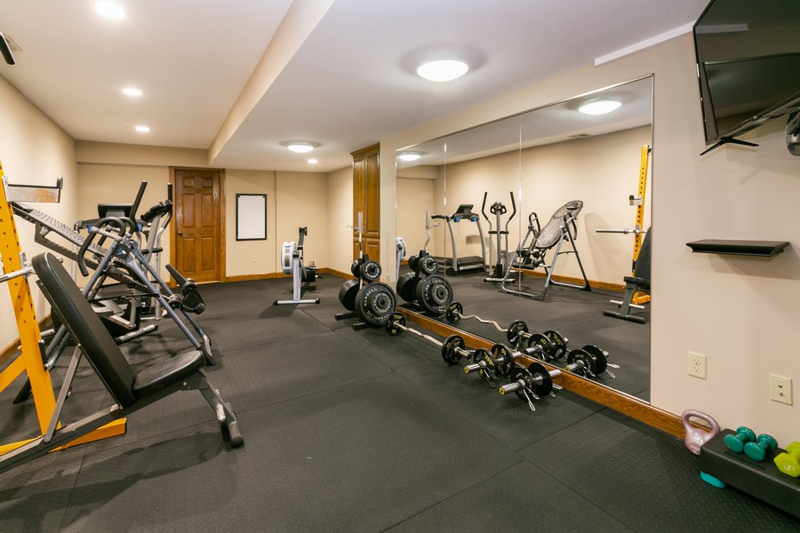 Real Estate Photography - 13311 Greenwich Ct, Apple Valley, MN, 55124 - Exercise Room