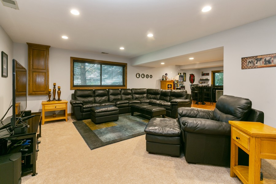 Real Estate Photography - 13311 Greenwich Ct, Apple Valley, MN, 55124 - Lower Level Family/Rec Room