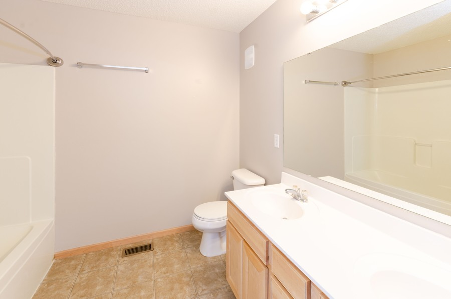Real Estate Photography - 5124 Scott Path, Robbinsdale, MN, 55422 - Master Bathroom