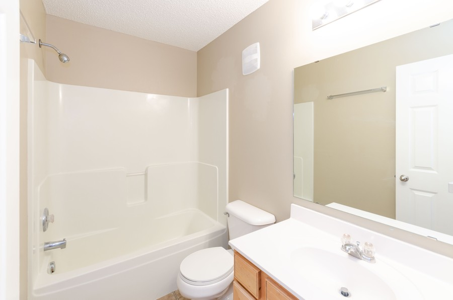 Real Estate Photography - 5124 Scott Path, Robbinsdale, MN, 55422 - 2nd Bathroom