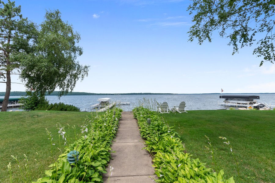 Real Estate Photography - 1088 Green Gables Road, City of East Gull Lake, MN, 56401 - Back Yard