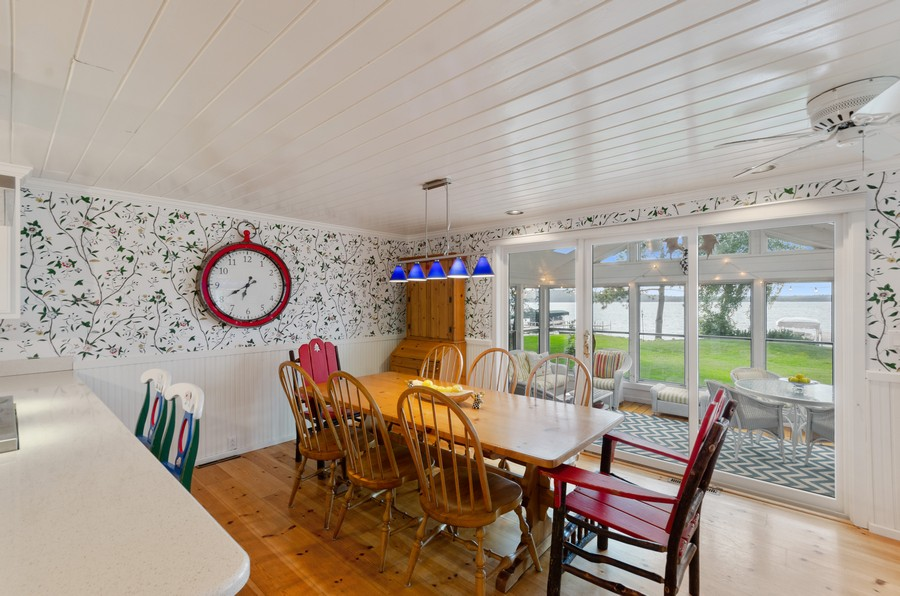 Real Estate Photography - 1088 Green Gables Road, City of East Gull Lake, MN, 56401 - Dining Room