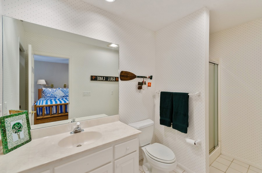 Real Estate Photography - 1088 Green Gables Road, City of East Gull Lake, MN, 56401 - Guest House Bathroom