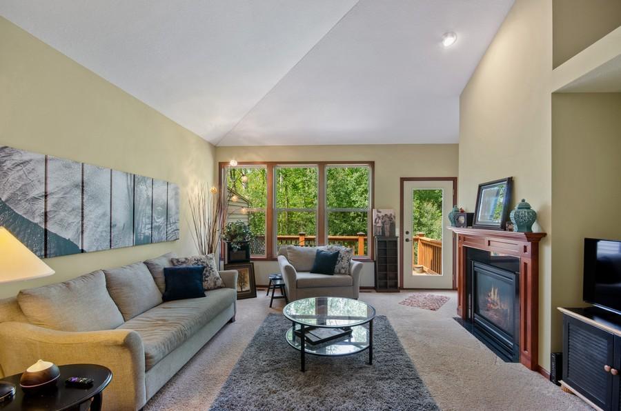Real Estate Photography - 5160 Wild Marsh Dr, White Bear Lake, MN, 55110 - Living Room