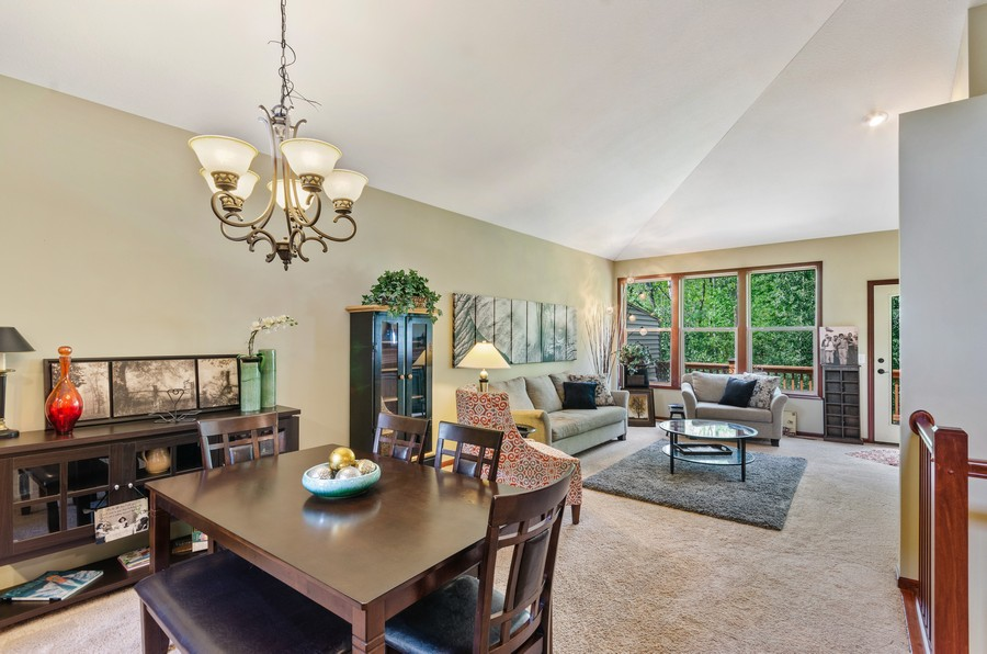 Real Estate Photography - 5160 Wild Marsh Dr, White Bear Lake, MN, 55110 - Dining Room