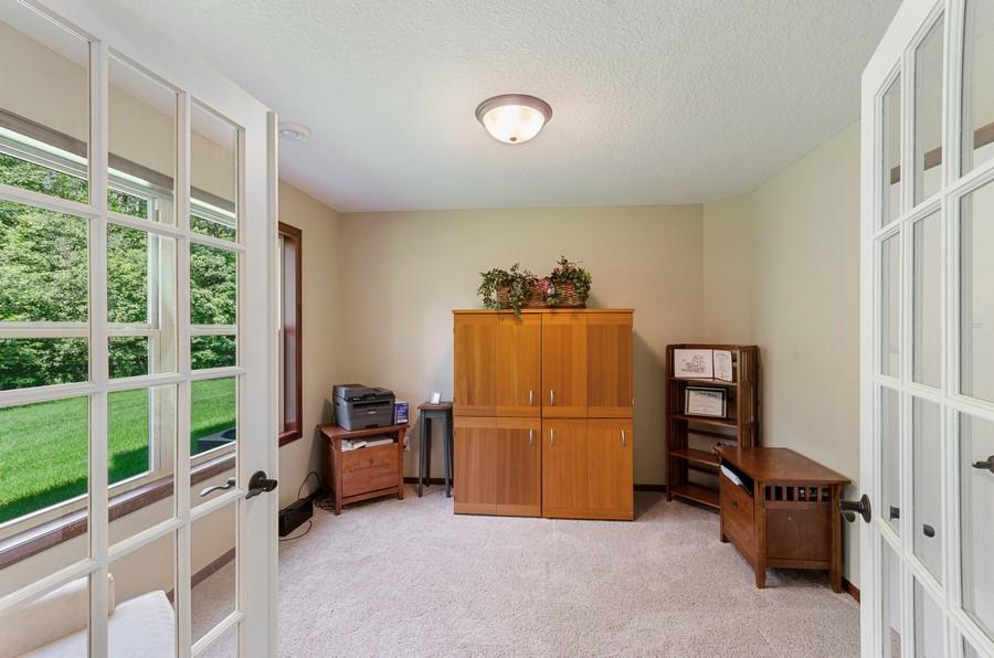 Real Estate Photography - 5160 Wild Marsh Dr, White Bear Lake, MN, 55110 - Office