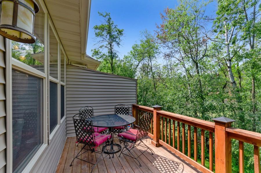 Real Estate Photography - 5160 Wild Marsh Dr, White Bear Lake, MN, 55110 - Deck
