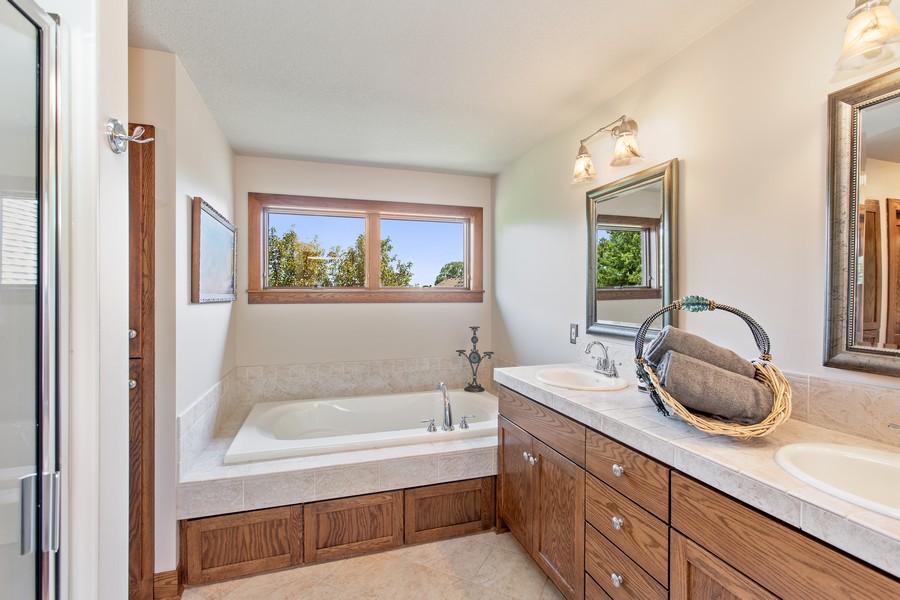 Real Estate Photography - 1289 Paris Ave North, Stillwater, MN, 55082 - Master Bathroom