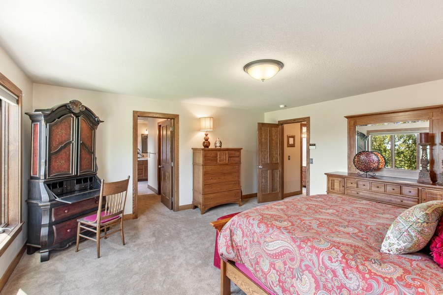Real Estate Photography - 1289 Paris Ave North, Stillwater, MN, 55082 - Master Bedroom
