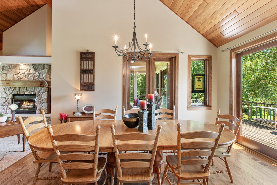 Real Estate Photography - 1289 Paris Ave North, Stillwater, MN, 55082 - Dining Room