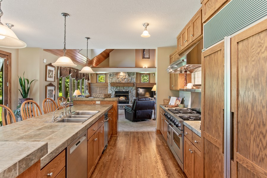 Real Estate Photography - 1289 Paris Ave North, Stillwater, MN, 55082 - Kitchen