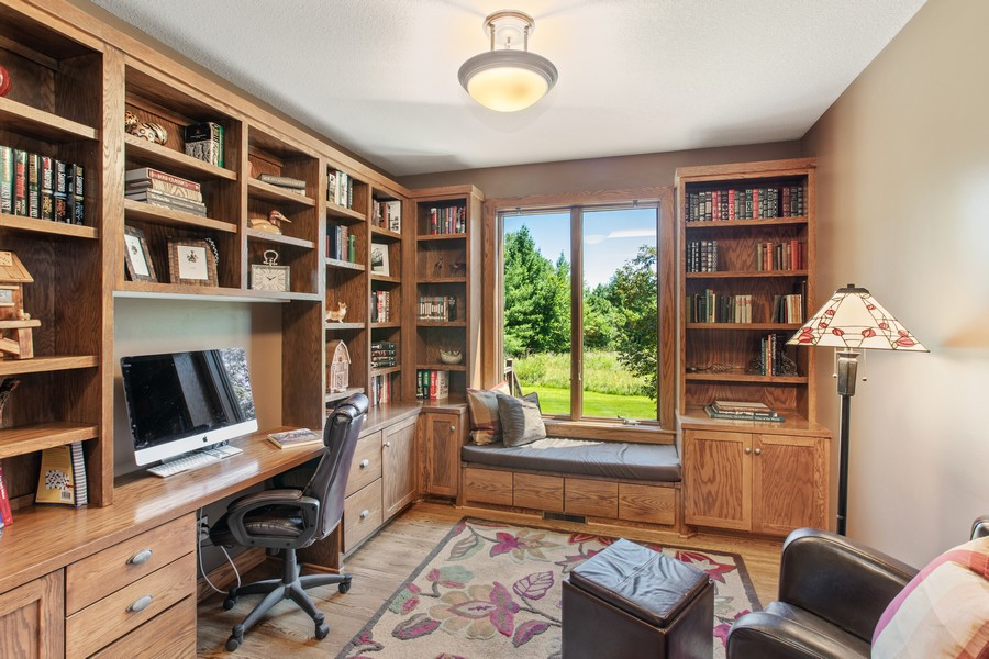 Real Estate Photography - 1289 Paris Ave North, Stillwater, MN, 55082 - Study