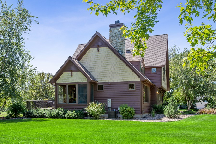 Real Estate Photography - 1289 Paris Ave North, Stillwater, MN, 55082 - Rear View