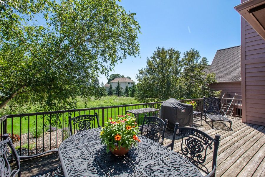 Real Estate Photography - 1289 Paris Ave North, Stillwater, MN, 55082 - Deck