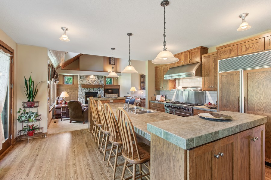 Real Estate Photography - 1289 Paris Ave North, Stillwater, MN, 55082 - Kitchen / Living Room