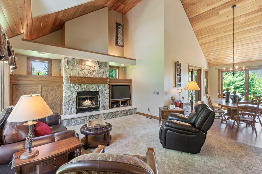Real Estate Photography - 1289 Paris Ave North, Stillwater, MN, 55082 - Living Room / Dining Room