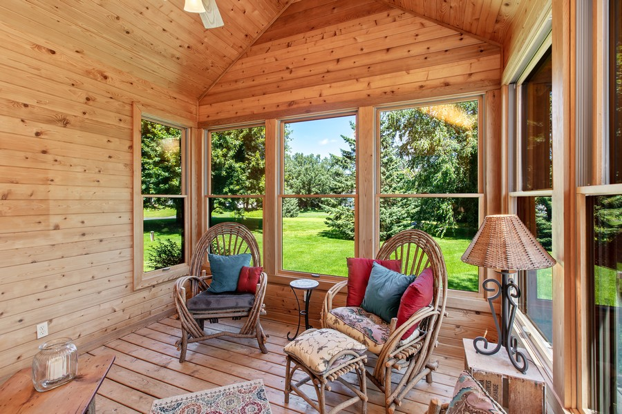 Real Estate Photography - 1289 Paris Ave North, Stillwater, MN, 55082 - Sun Room