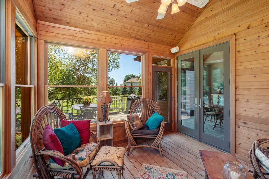 Real Estate Photography - 1289 Paris Ave North, Stillwater, MN, 55082 - Sunroom
