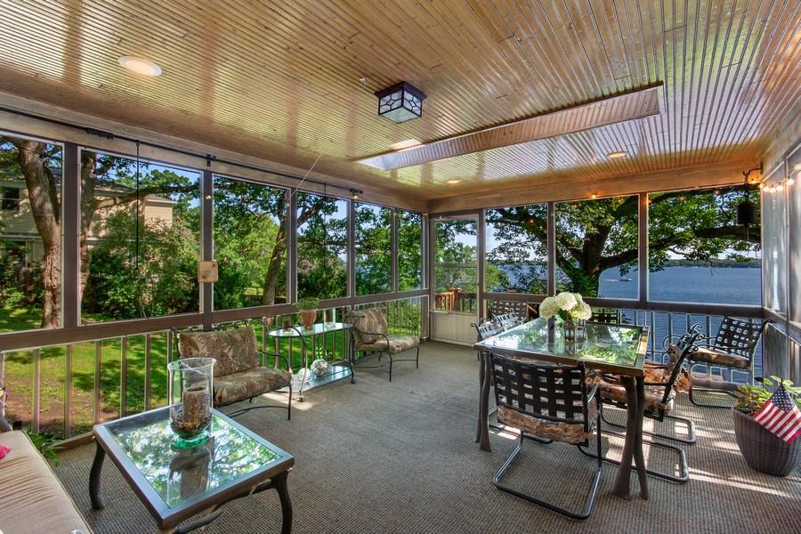 Real Estate Photography - 339 Wildwood Avenue, Birchwood, MN, 55115 - Sun Room