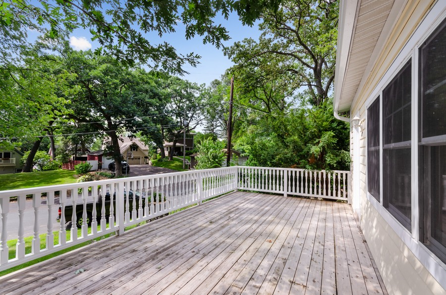 Real Estate Photography - 70 Pine St., Mahtomedi, MN, 55110 - Deck