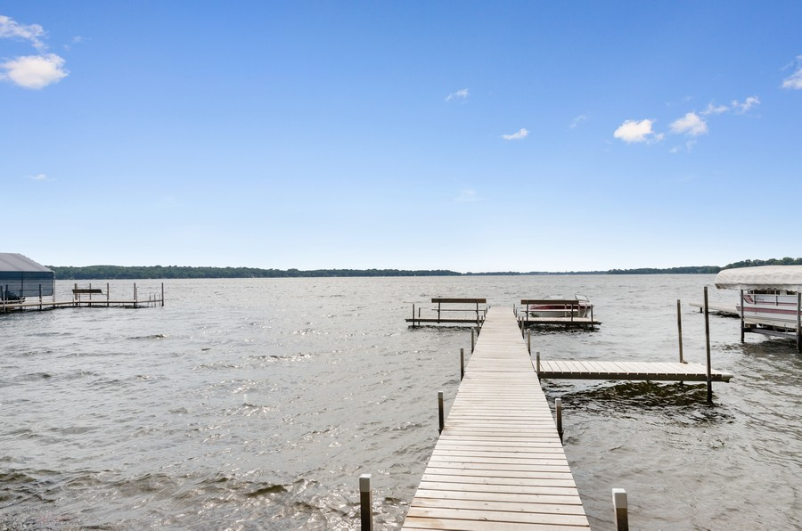 Real Estate Photography - 70 Pine St., Mahtomedi, MN, 55110 - Lake View
