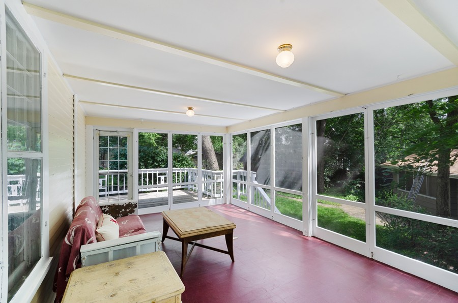 Real Estate Photography - 70 Pine St., Mahtomedi, MN, 55110 - Porch / Heaven