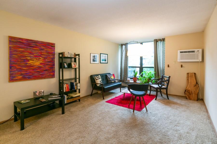 Real Estate Photography - 4530 Park Commons Dr, Unit 320, St Louis Park, MN, 55416 - Living Room