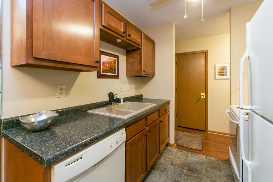 Real Estate Photography - 4530 Park Commons Dr, Unit 320, St Louis Park, MN, 55416 - Kitchen
